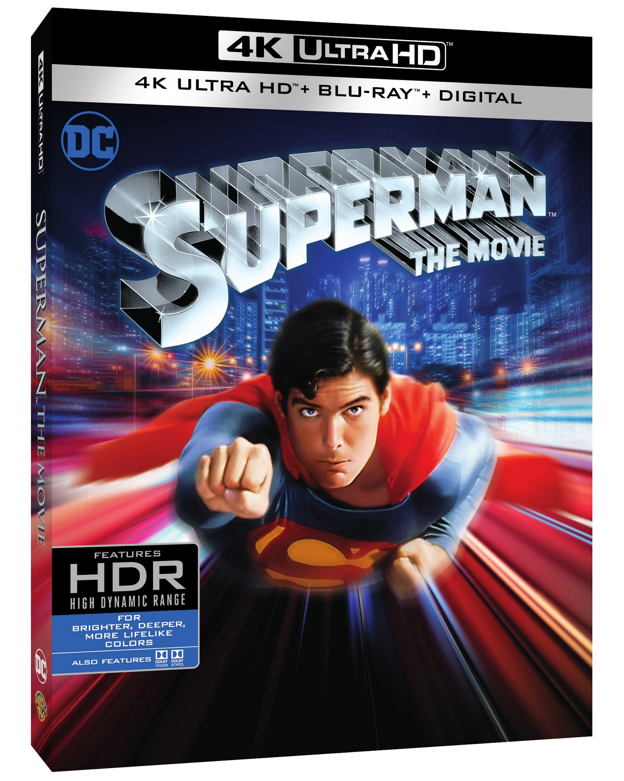 Reeve's Superman Soars in 40th Anniversary 4K Release | ComicMix