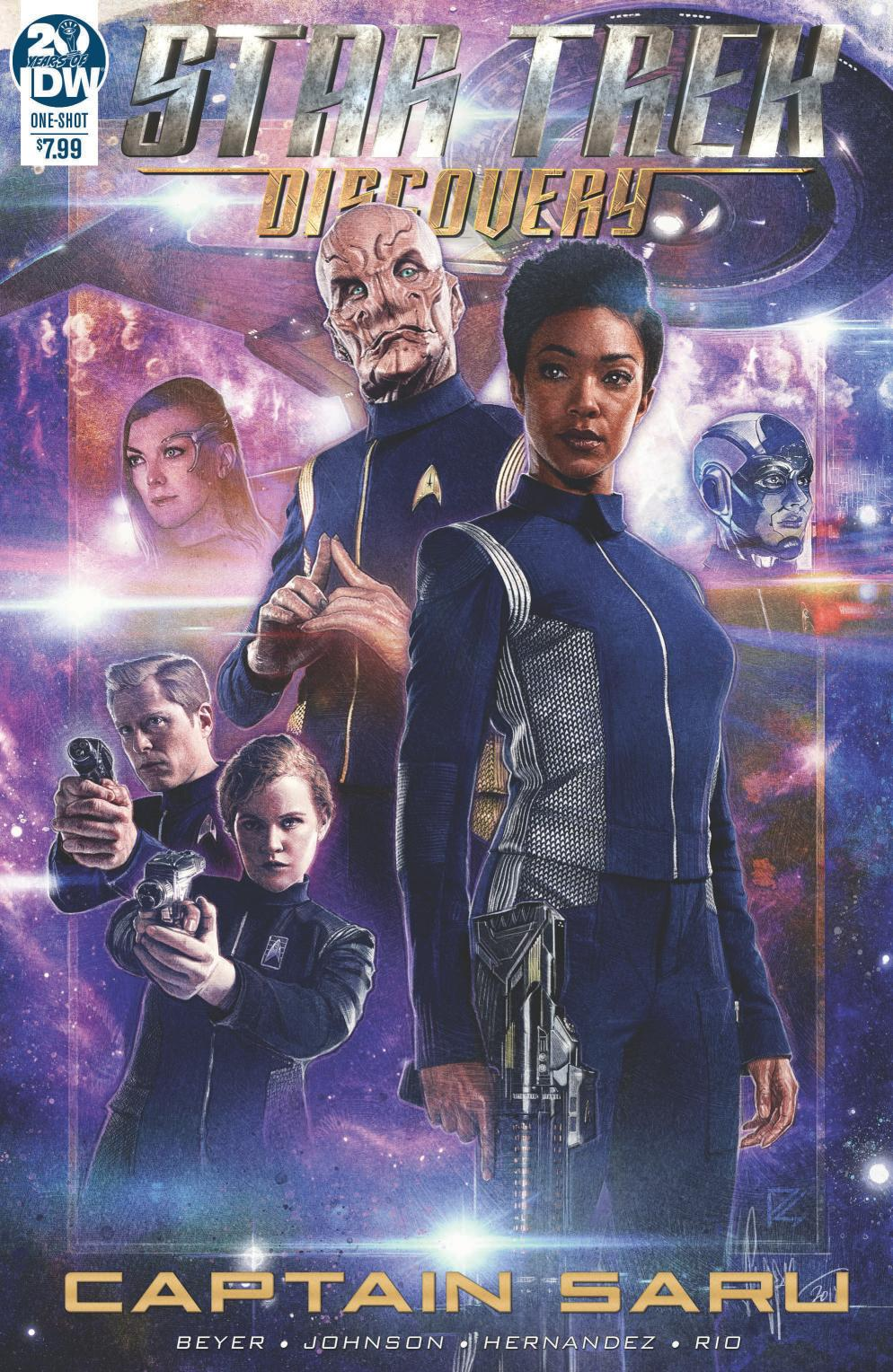 Preview 'Captain Saru' Comic – IDW's 2019 'Star Trek: Discovery' Annual