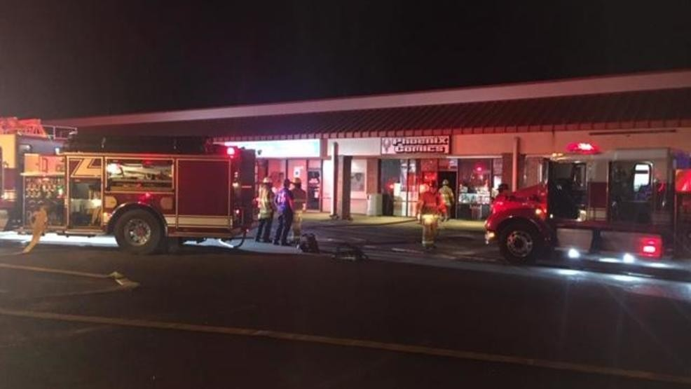 Albany firefighters investigating cause of comic book store fire