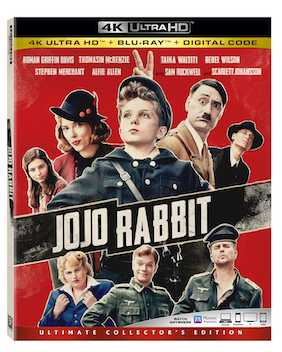 ScarJo Shines in JoJo Rabbit, Hopping into Homes in Feb.