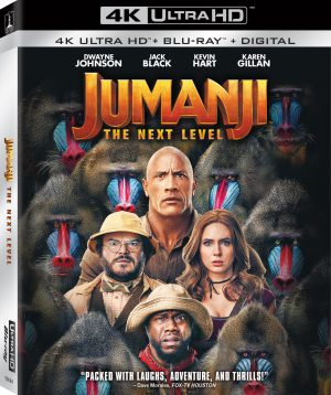 Jumanji: The Next Level Finds its way Home in March