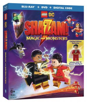 Lego DC: Shazam! Magic and Monsters is Coming in June