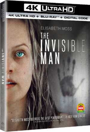 Reimagined The Invisible Man Appears at Home in June
