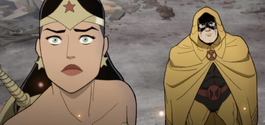 Steve Trevor Proposes in a new Justice Society Clip