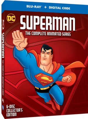 2 eek Delay for Superman: The Complete Animated Seires
