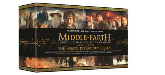 31-Disc Middle Earth 4K/Blu-ray Box Set Coming in October